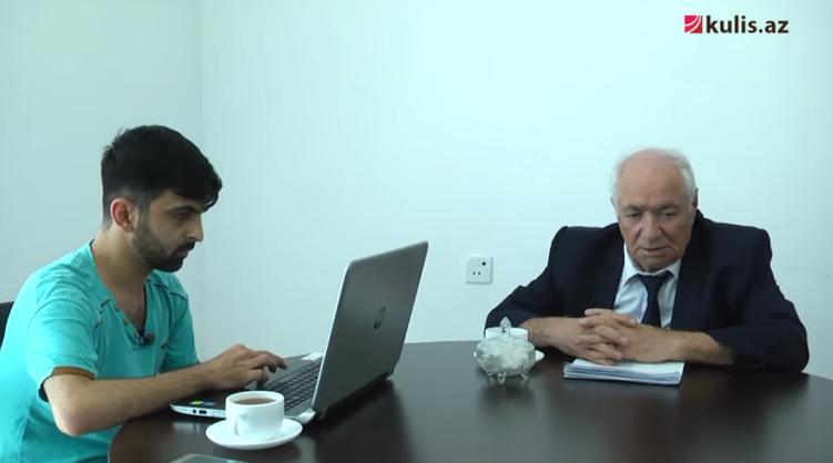 """Xalq şairi Vahid Əziz: """"Mənə ağız büzənlər..."""" - Video"""