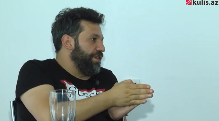 """Taleh Yüzbəyov: """"Fahişəni oynamağa aktrisa tapa bilmirdim"""" - Video"""