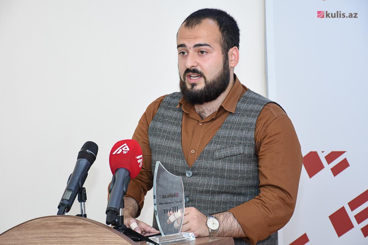 """""""Bir şeir"""" yarışmasının qalibləri mükafatlandırıldı - Fotolar"""
