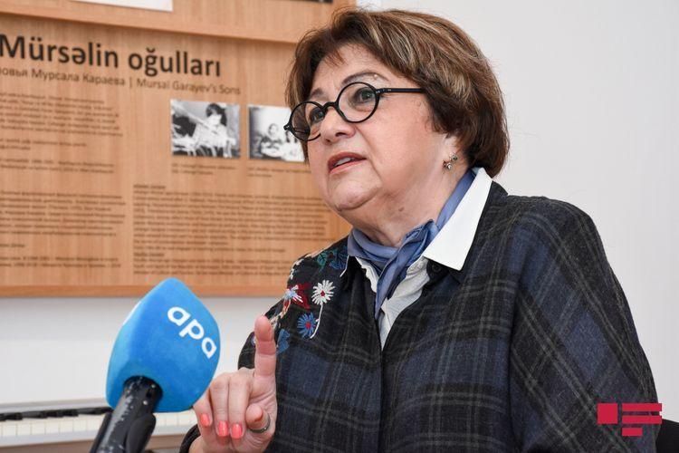 """Qara Qarayevin qızı: """"Atamın qəbrinə heç vaxt gül aparmıram"""" - Müsahibə"""