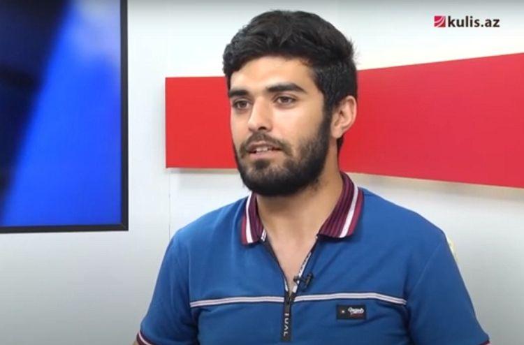 """Universiteti atıb əsgərliyə gedən gənc yazar: """"Şeir ölüb"""" - Video"""