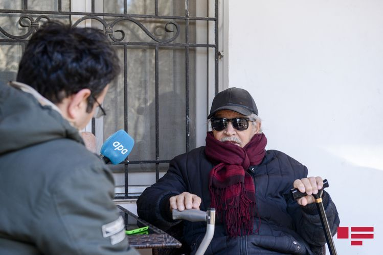"""Xalq rəssamı: """"İndiki rəssamların çoxu şarlatandır"""" - Müsahibə"""