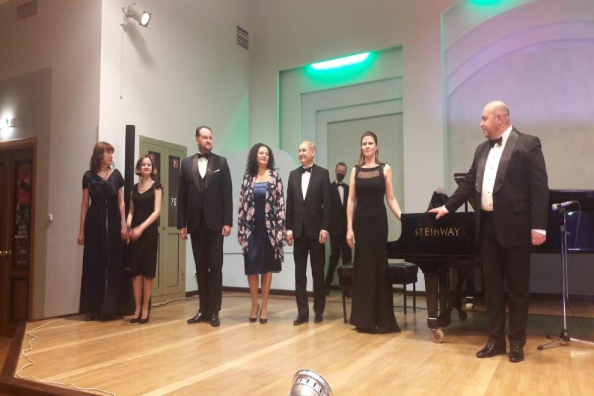Belarusiyada Müslüm Maqomayevin xatirəsinə konsert təşkil olunub