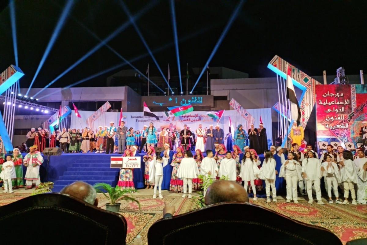 Azərbaycan ansamblının beynəlxalq folklor festivalında  konserti olub