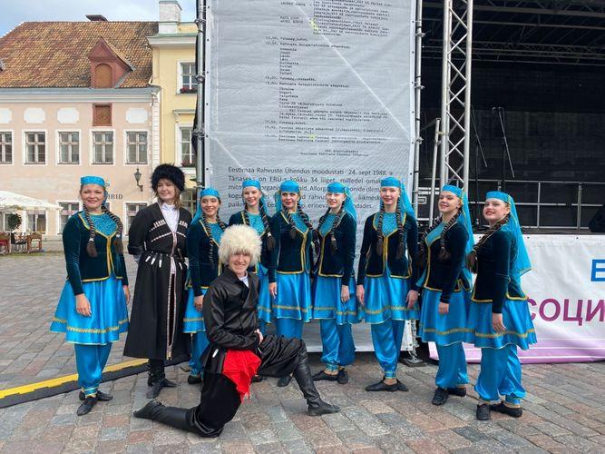 Ölkəmiz Tallində keçirilən festivalda təmsil olunub -Fotolar