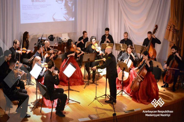 Bakıda simfonik musiqi axşamı keçirilib
